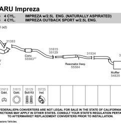 2007 subaru impreza exhaust diagram schematic diagram database 1997 subaru forester exhaust diagram [ 1500 x 1000 Pixel ]