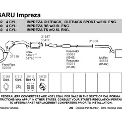 2004 Subaru Outback Exhaust System Diagram Steelmate Car Alarm Wiring Forester Schematic