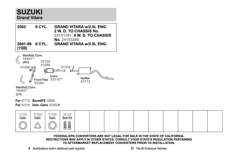 hight resolution of 2003 suzuki xl7 catalytic converter diagram diy enthusiasts wiring rh okdrywall co suzuki xl7 battery location