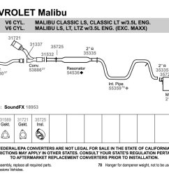 malibu exhaust diagram wiring diagram featured 2006 malibu exhaust diagram malibu exhaust diagram [ 1500 x 1000 Pixel ]