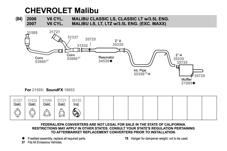 hight resolution of malibu exhaust diagram wiring diagram featured 2006 malibu exhaust diagram malibu exhaust diagram
