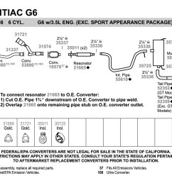 2008 pontiac g6 3 5 exhaust system diagram wiring diagram expert2008 pontiac g6 exhaust diagram wiring [ 1500 x 1000 Pixel ]