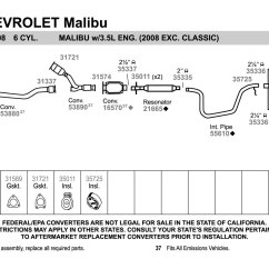 2001 Chevy Impala Exhaust System Diagram Radio Wiring For 1995 Silverado Honda Accord Systems Performance