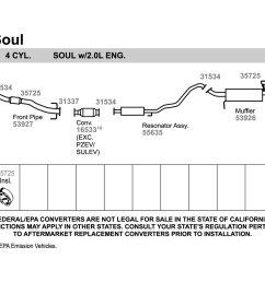 walker 2 bolt exhaust pipe flange gasket [ 1500 x 1000 Pixel ]