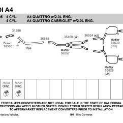 Audi A4 Exhaust System Diagram 2000 Honda Civic Ecu Wiring 2006 Suzuki Grand Vitara