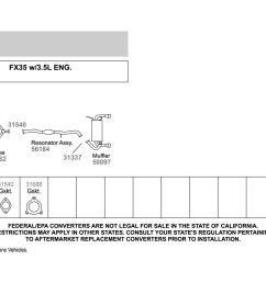 walker exhaust y pipewalker replacement exhaust kit  [ 1500 x 1000 Pixel ]
