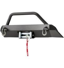 warn semi hidden winch mounting system [ 1000 x 1000 Pixel ]