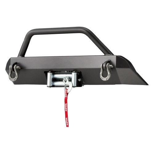small resolution of warn semi hidden winch mounting system