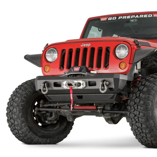 small resolution of warn elite series stubby front hd black bumper