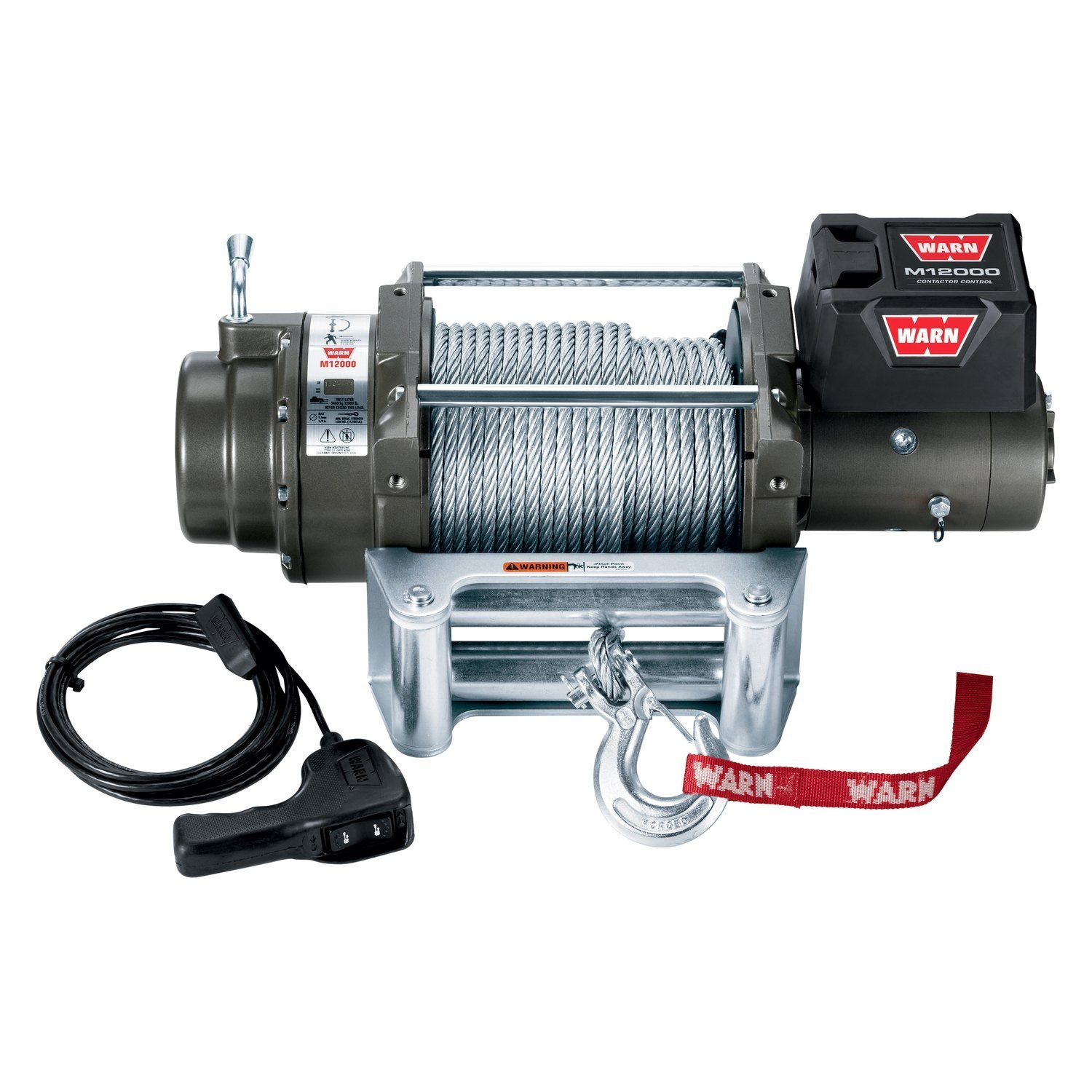 warn winch romex wire diagram m series self recovery electric with rope