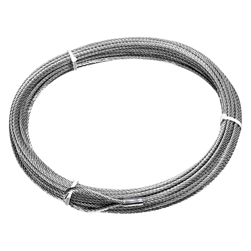 hight resolution of warn wire rope assy