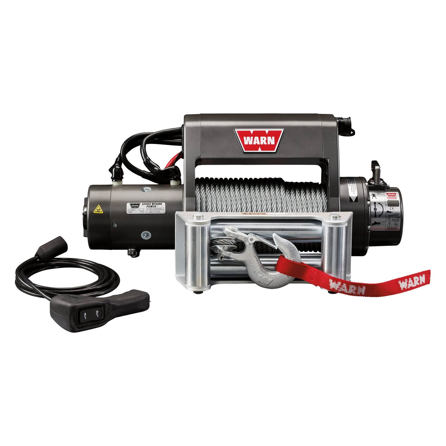 hight resolution of  winch with wire