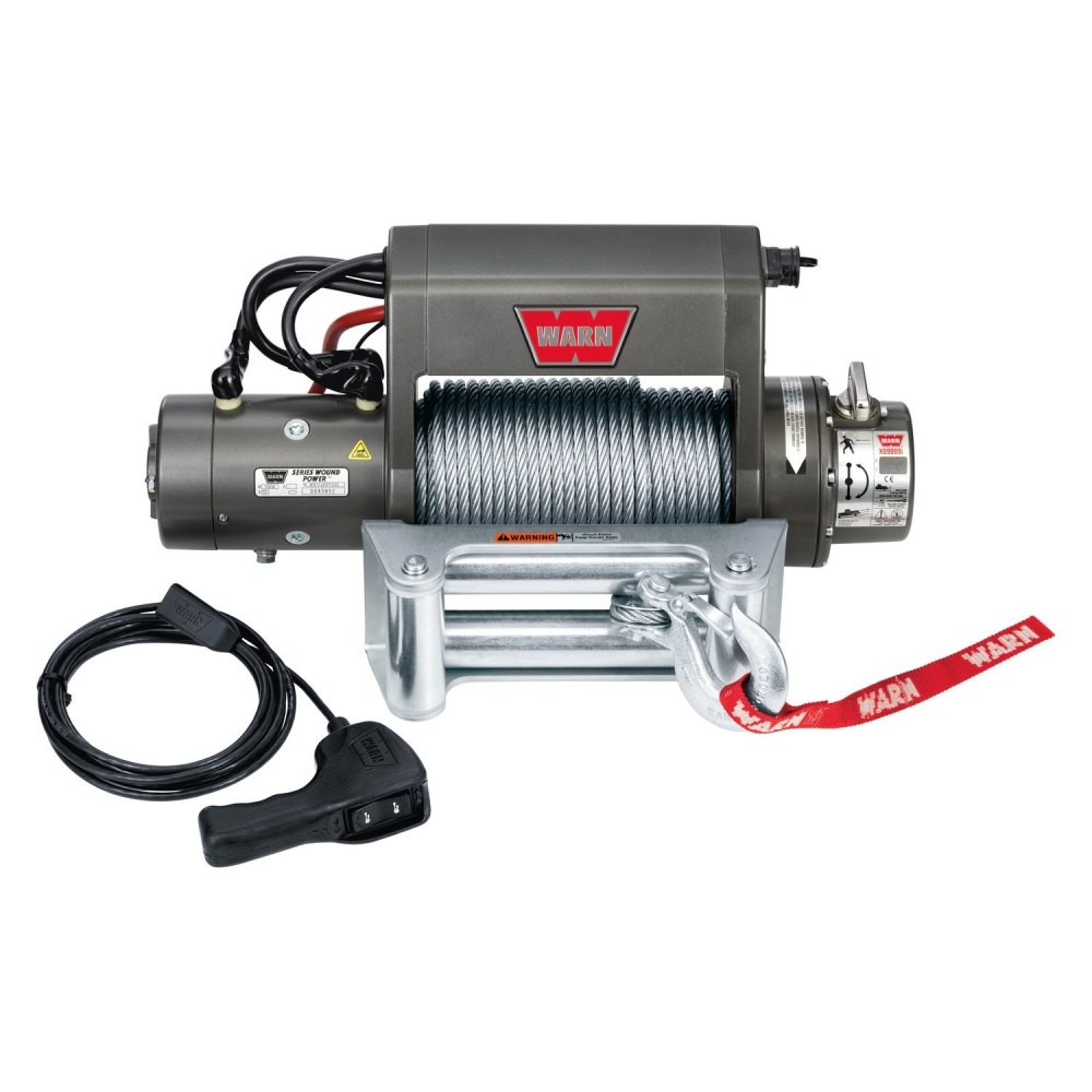 medium resolution of warn winch with wire rope