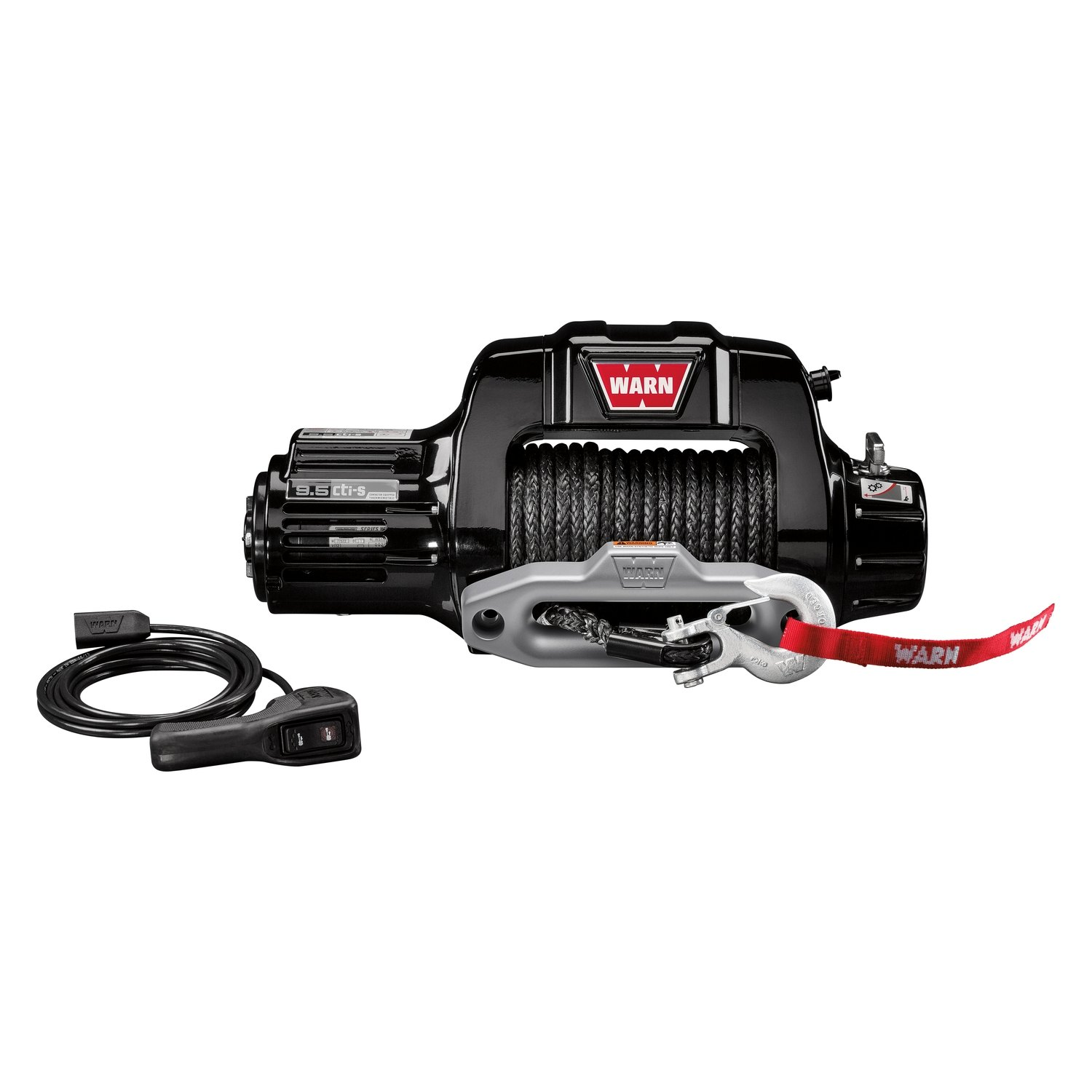 warn winch crossover wiring diagram speaker 9 5cti 9500 lbs self recovery electric