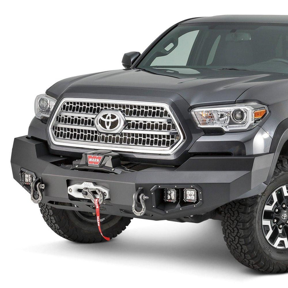 hight resolution of warn ascent full width front hd black bumper