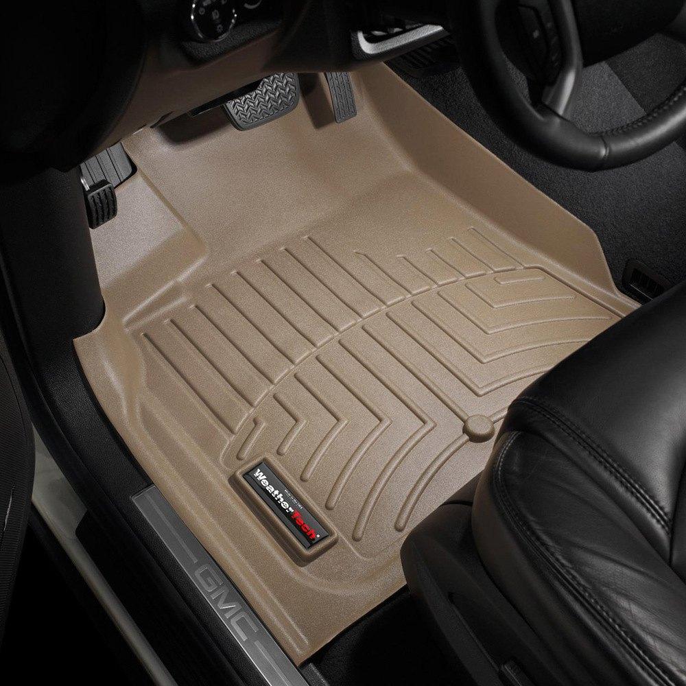 Weathertech 452511  DigitalFit 1st Row Tan Molded Floor