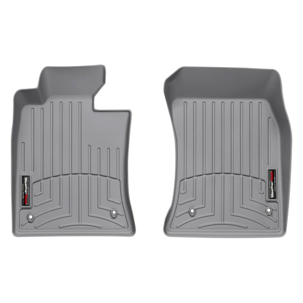 WeatherTech 461361  DigitalFit 1st Row Gray Molded Floor Liners