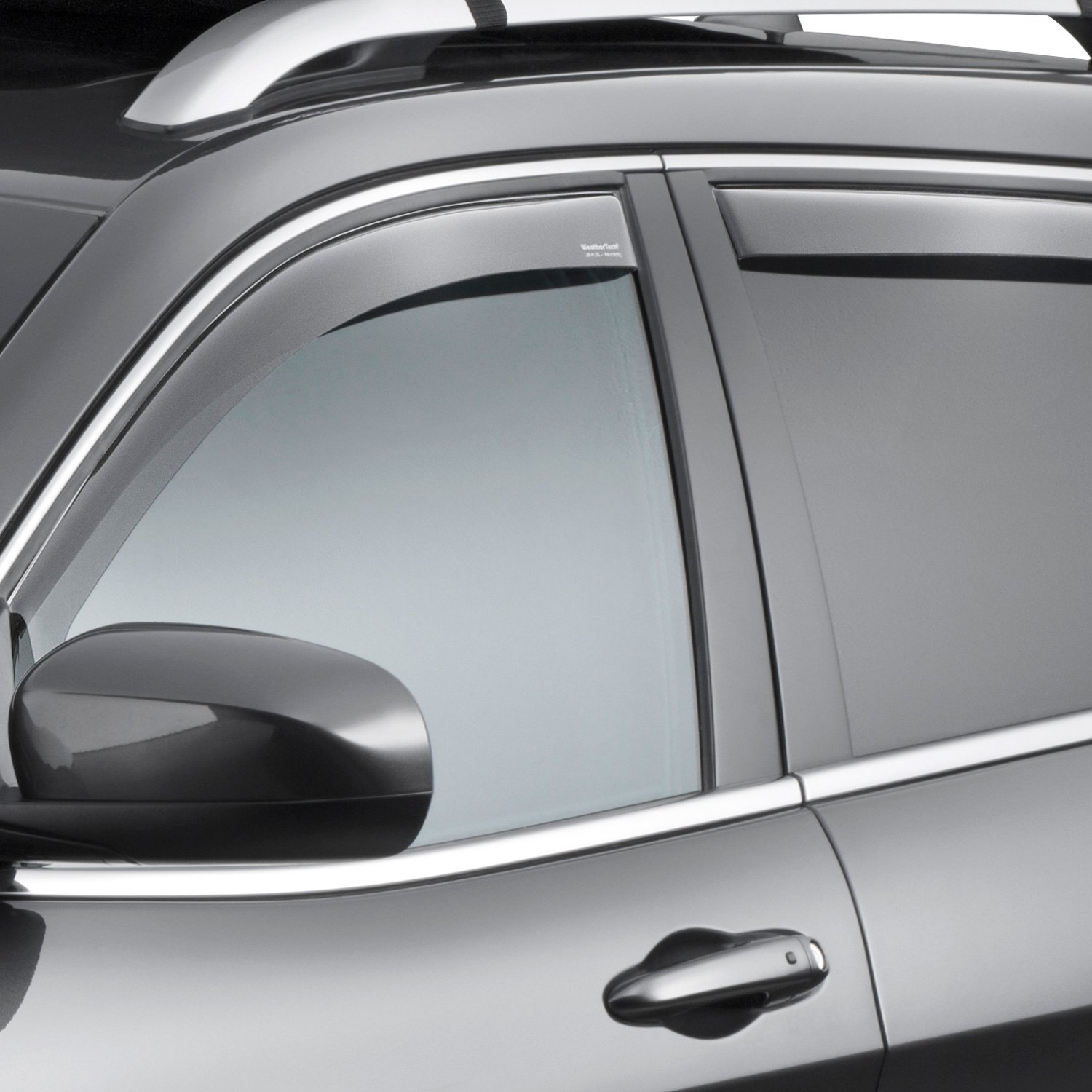 WeatherTech  Jeep Cherokee 2014 InChannel Side Window Deflectors