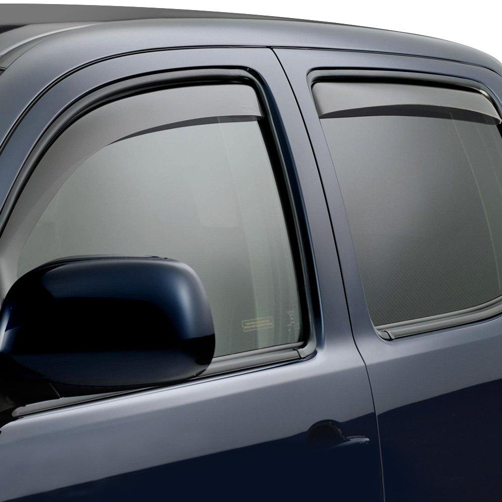 WeatherTech In Channel Side Window Deflectors