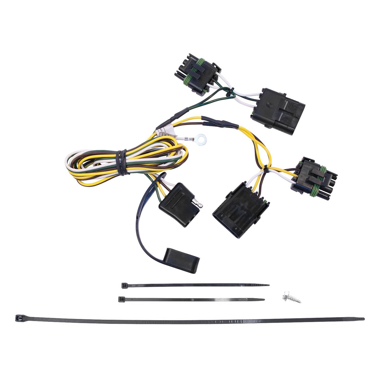 hight resolution of details about for jeep wrangler 1991 1997 westin towing wiring harness