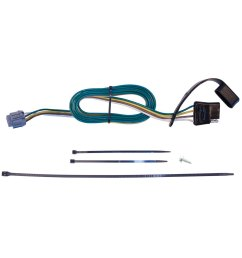 for nissan frontier 2005 2017 westin towing wiring harness [ 1500 x 1500 Pixel ]