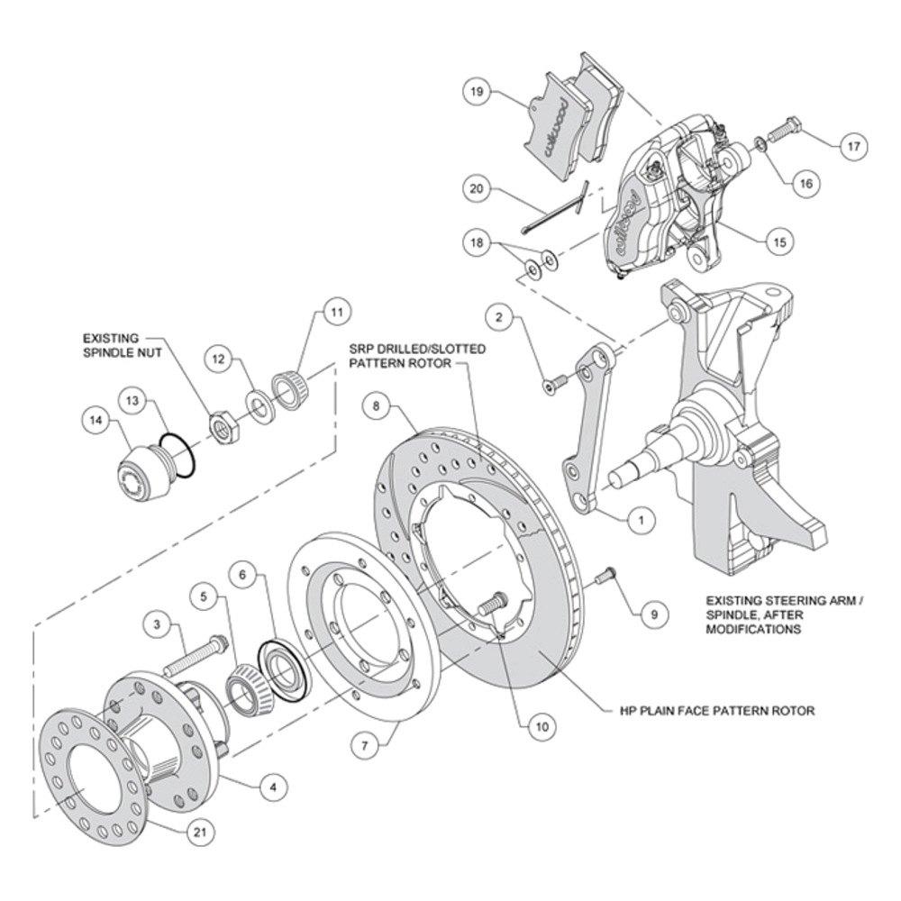 For Buick Estate Wagon 77-78 Brake Kit Street Performance