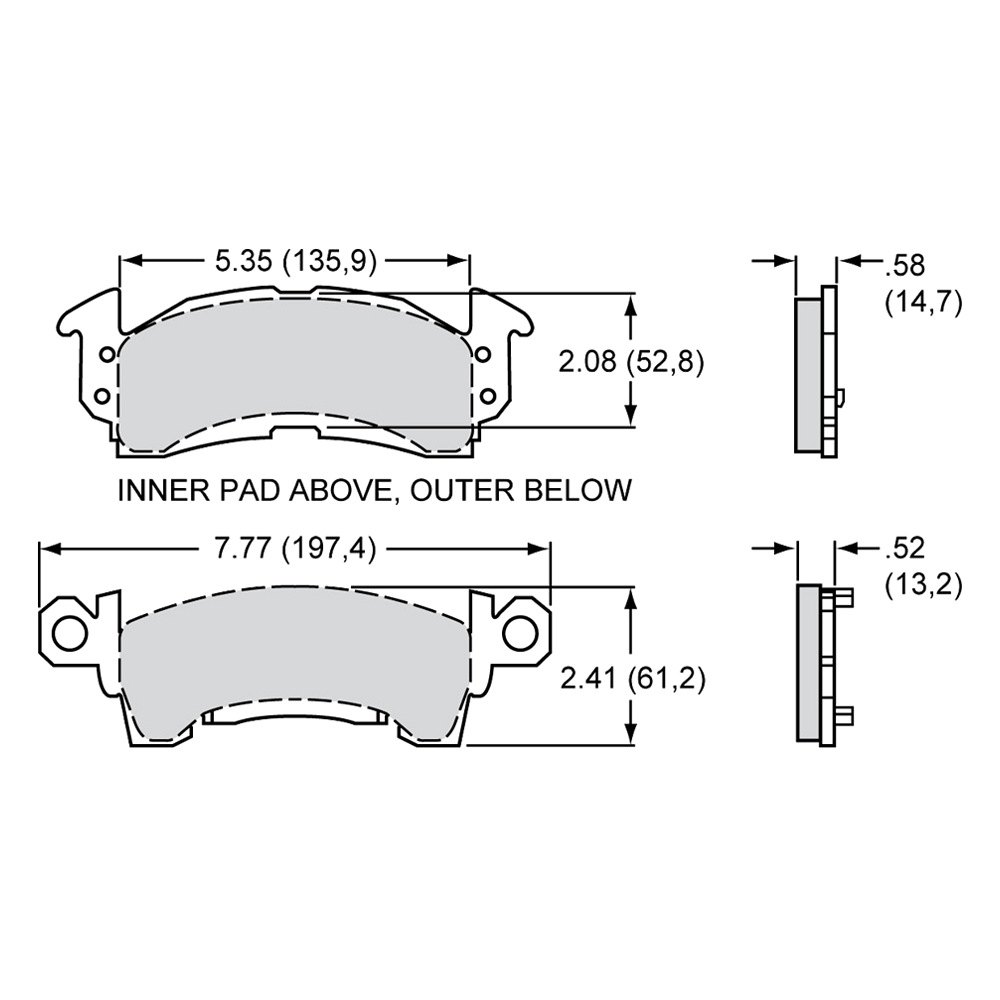 hight resolution of wilwood polymatrix e street performance front brake