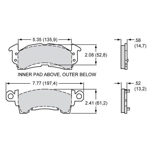 small resolution of wilwood polymatrix e street performance front brake
