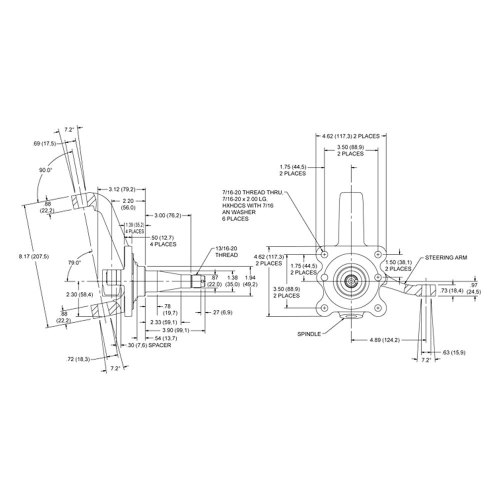 small resolution of helix mustang ii front suspension wiring diagram and 1928 1934 ford front end parts 1936