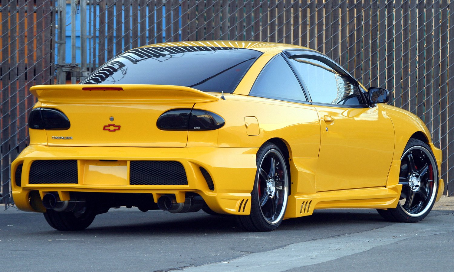 hight resolution of xenon body kit chevy cavalier