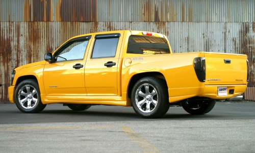small resolution of xenon body kit chevy colorado side view