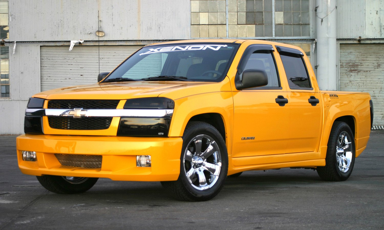 hight resolution of xenon body kit chevy colorado