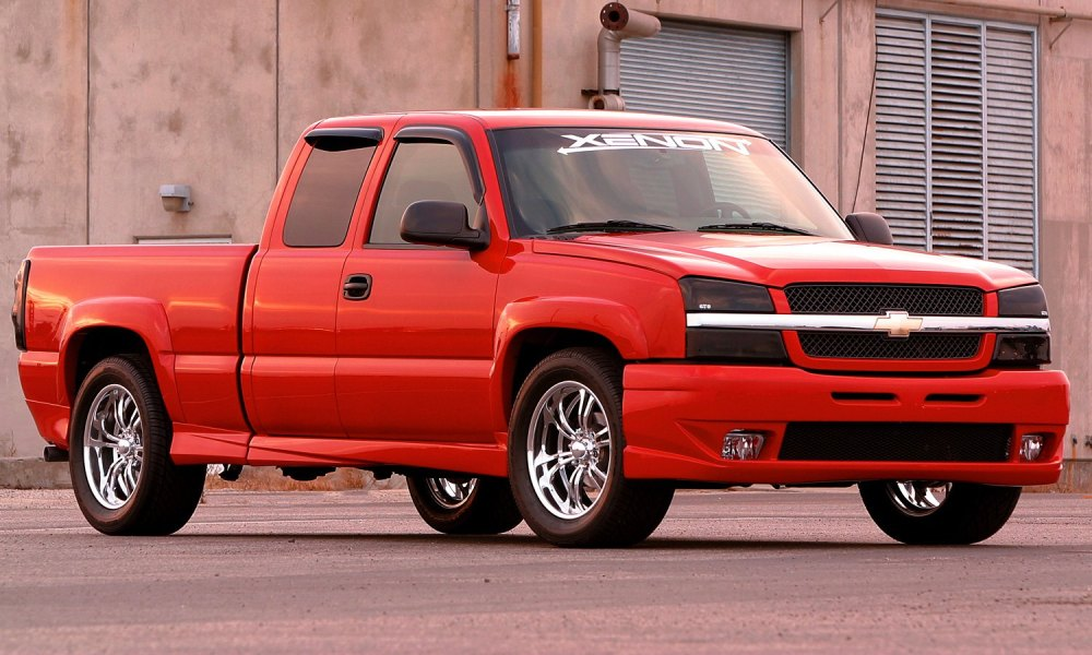 medium resolution of xenon body kit chevy silverado