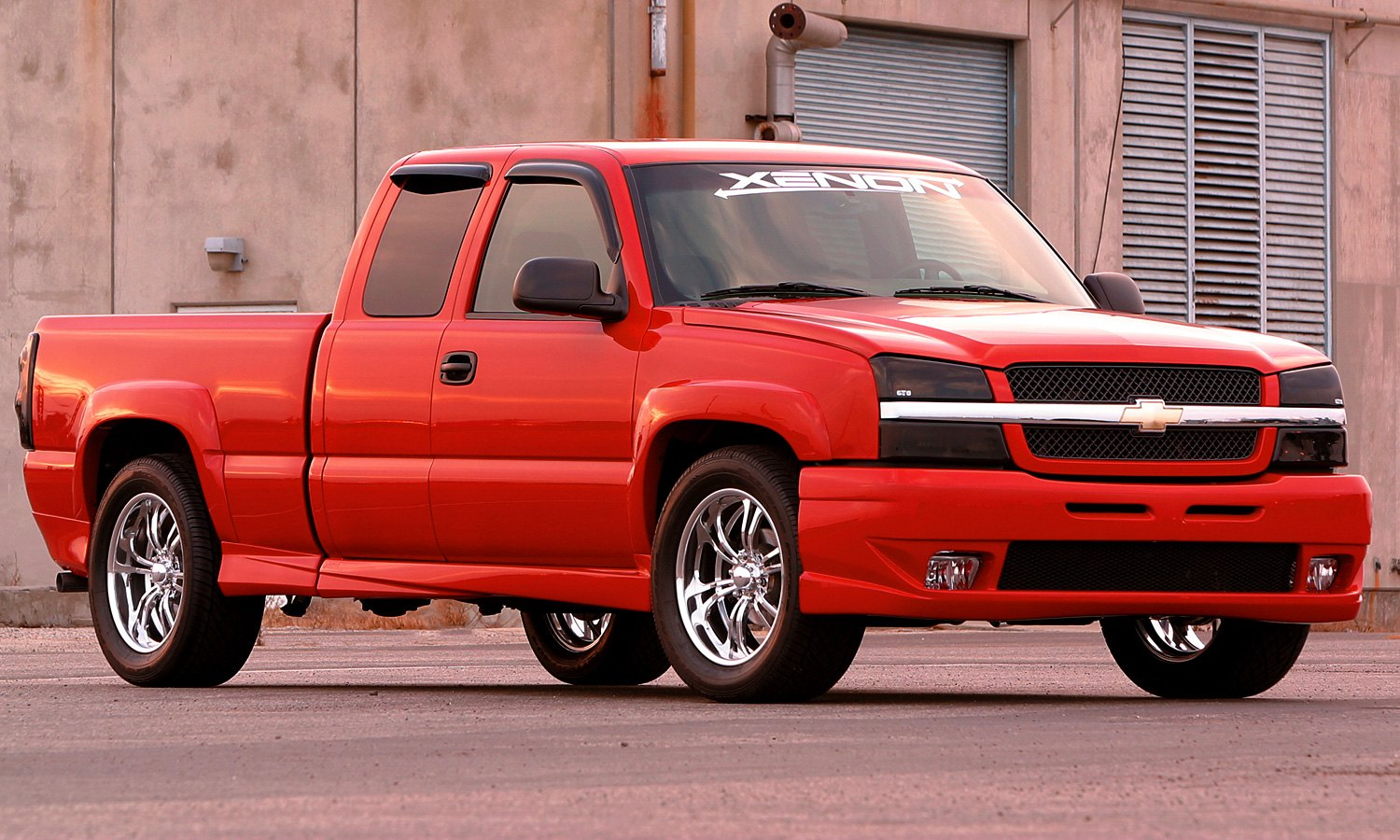 hight resolution of xenon body kit chevy silverado