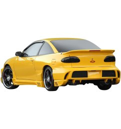 for chevy cavalier 1995 1999 xenon 11270 body kit unpainted [ 1500 x 1500 Pixel ]