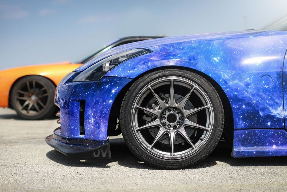 XXR 527 Wheels  Chromium Black Rims