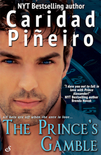 THE PRINCE'S GAMBLE Romantic Suspense