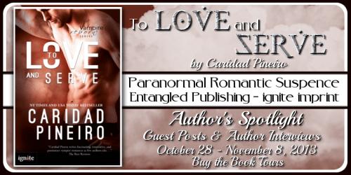 TO LOVE AND SERVE Vampire Romantic Suspense