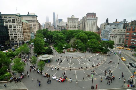 Union Square looking North