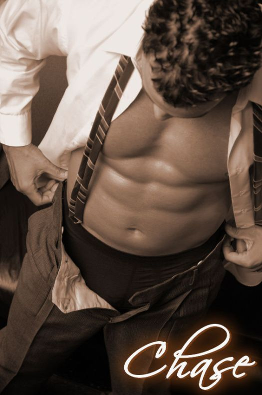 business man with shirt open sepia