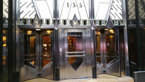 Entrance on 42nd Street