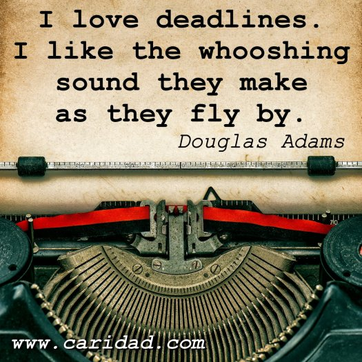 deadlines doug adams