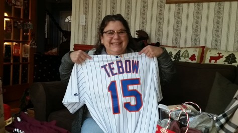 Tebow Mets Jersey