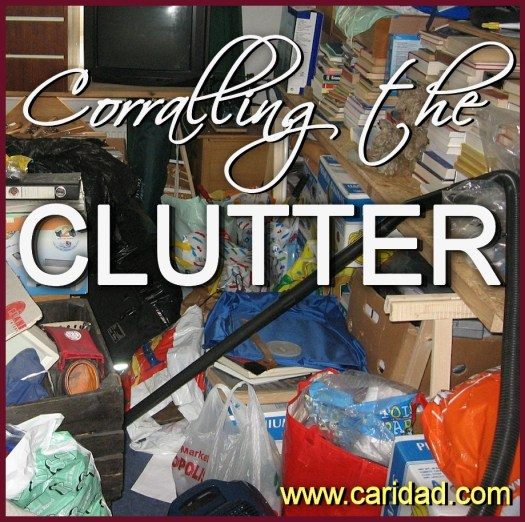 Corralling the Clutter - How to get organized