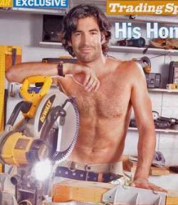 Carter Oosterhouse - the Bad Boy Carpenter of HGTV