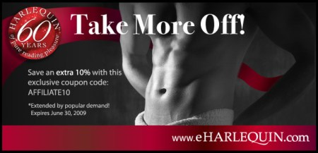 Take 10% off all Print Books at eharlequin.com