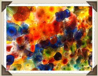 Murano glass ceiling