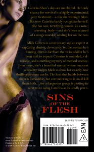 Back Cover of SINS OF THE FLESH
