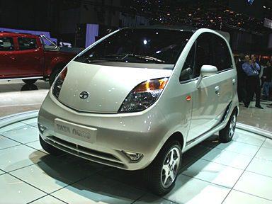 Tata Nano la voiture la moins chère du monde manifestation des paysans