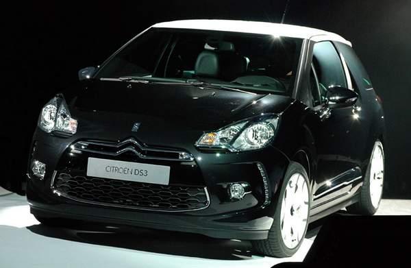Les premières images de la Citroën DS3